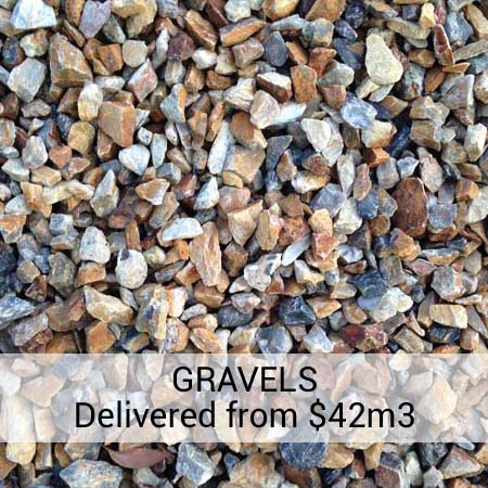 Decorative Gravel brisbane - Landscape supplies