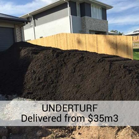 Under Turf Soil Brisbane - Landscape Supplies